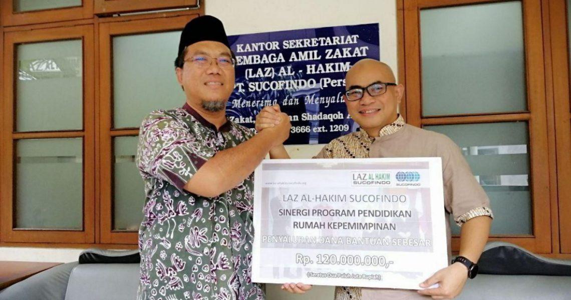 Kerjasama Strategis Rumah Kepemimpinan bersama LAZ Al Hakim Sucofindo