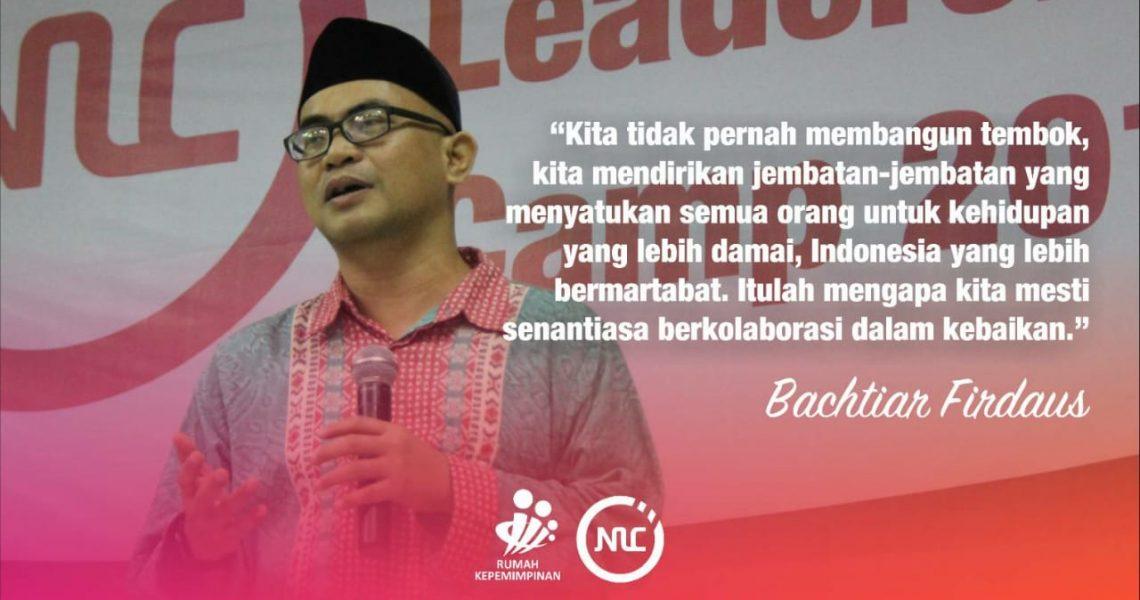 Opening Ceremony NLC 2018 Rumah Kepemimpinan dari Bpk Direktur Bachtiar Firdaus
